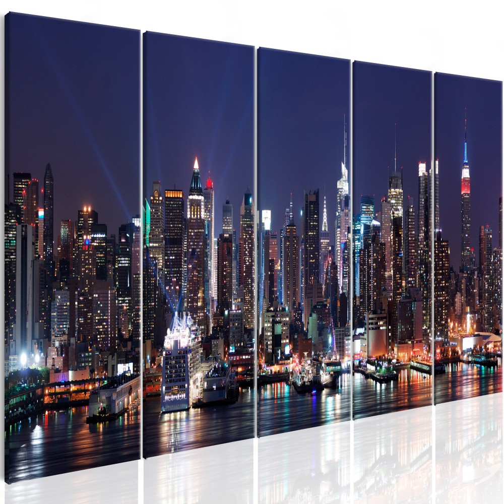 Quels sont les atouts d'un tableau de New-York?